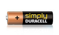 Simply Duracell Batteries