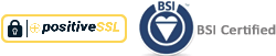 BSI Certified, ISO9001 Qualified company.