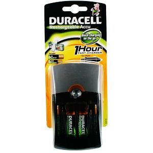 Duracell 1Hr Charger + 2 X AA & 2 X AAA