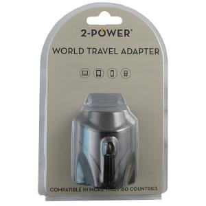 2-Power World Travel Adapter