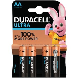 Ultra Power AA - 4 Pack