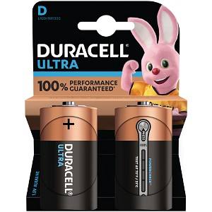 Duracell Ultra Power D Size Pack of 2