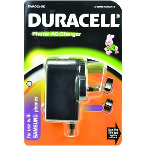 Duracell Mains Charger for Samsung Mobiles (DMAC02-UK)