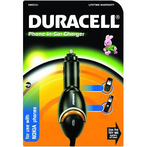 Duracell In-Car Charger for Nokia Mobiles (DMDC01)