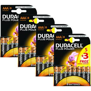 Duracell Plus Power AAA 32 Pack (BUN0020A)