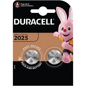 Duracell DL2025 Battery Twin Pack
