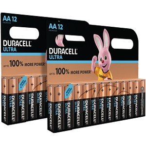 Duracell Ultra Power AA Pack of 24
