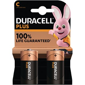 Duracell Plus Power C Size (2 Pack) (MN1400B2)