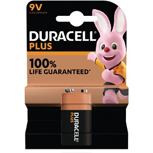 Duracell Plus Power 9v Battery Single Pack (MN1604B1)