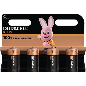 Duracell Plus Power C Size (4 Pack) (MN1400B4)