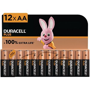 Plus Power AA - 12 Pack