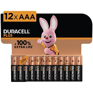 Duracell Plus Power AAA 12 Pack (MN2400B12)