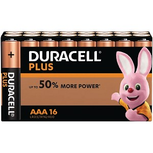 Plus Power AAA - 16 Pack