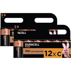 Duracell Plus Power C Size (12 Pack) (BUN0035A)