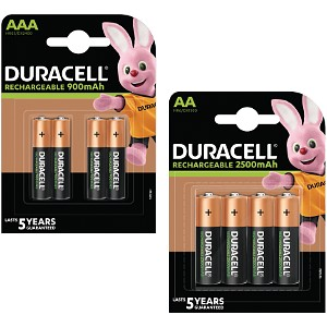 Duracell Pre-Charged AA & AAA 8 Pack
