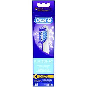 ORAL B Pulsonic Brusheads 4 Pack (OBSR32B4)