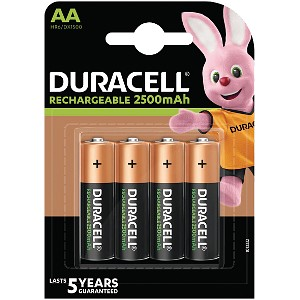Ultra Rechargeable AA 2500mAh - 4 Pack