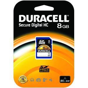 Duracell 8GB SDHC Card