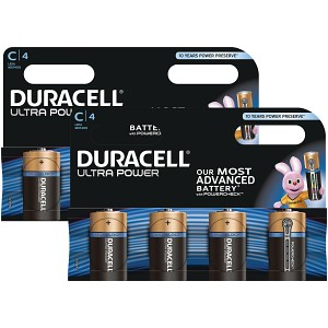 Duracell Ultra Power C Size Pack of 8