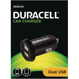 Duracell Dual USB In-Car Charger