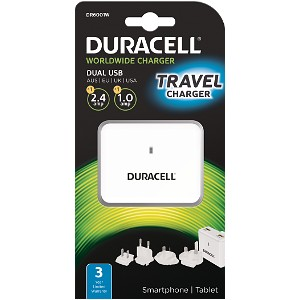 Dual USB Travel Charger - Tablet & Phone