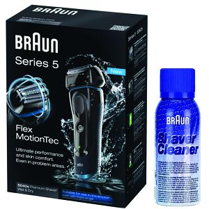Braun Series 5 5040s-5 Shaver & Cleaner