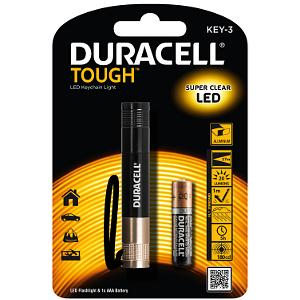 Duracell keyring torch