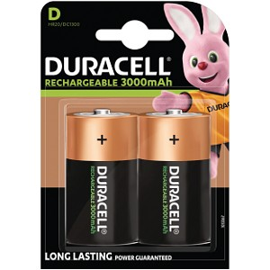 Duracell Rechargeable D Size batteries (HR20)