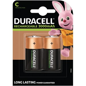 Duracell C size Rechargeable batteries (HR14)