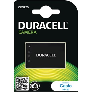 Duracell Digital Camera Battery 3.7v 700mAh 2.6Wh (DRNP20)