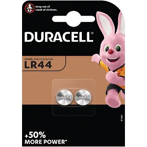 Duracell LR44 Battery Twin Pack