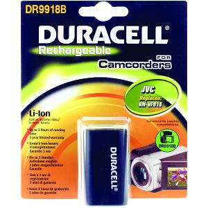 Duracell Camcorder Battery 7.4v 1500mAh 11.1Wh (DR9918B)