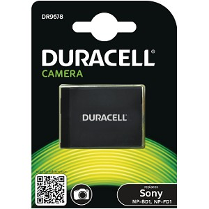 Duracell Digital Camera Battery 3.7v 650mAh 2.4Wh (DR9678)