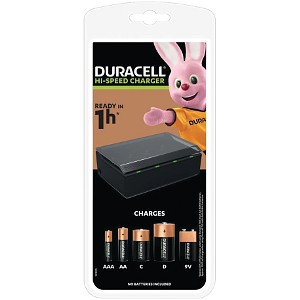 Duracell Multi Charger for AA,AAA,C,D & 9V (CEF22-UK)