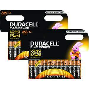 Duracell Plus Power Battery 2 X MN2400B12 (MN2400-X24)