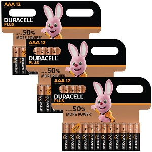 Duracell AAA 36 Pack of batteries
