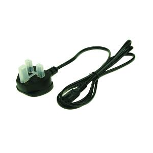 Satellite 210CD AC Mains Lead Fig 8 UK Plug (Black)