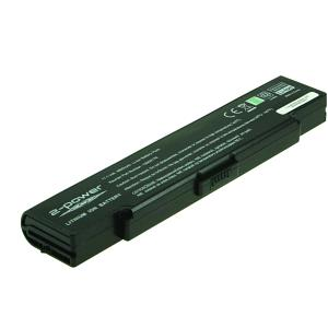 Vaio VGN-FJ3M/W Battery (6 Cells)