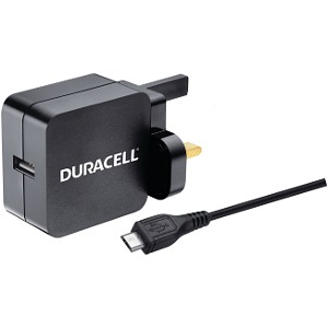 One Dual SIM Mains 2.4A Charger & Micro USB Cable