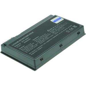 TravelMate 2412LC Battery (8 Cells)