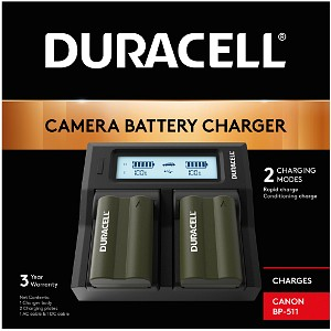ZR-45 Duracell Dual DSLR Battery Charger