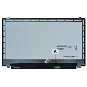 2-Power replacement for Dell LTN156AT33 Screen