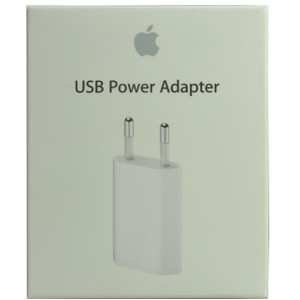 iPhone 4S 5W USB Power Adapter (EU) - Retail