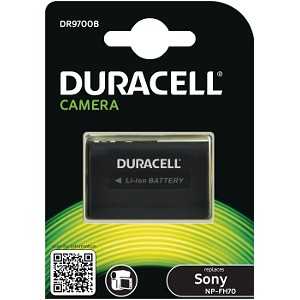 Duracell DR9700B replacement for Sony NP-FH100 Battery