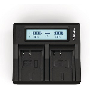 ZR20 Canon BP-511 Dual Battery Charger