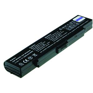 Vaio VGN-CR490EBL Battery (6 Cells)