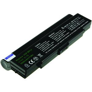 Vaio VGN-CR72B/W Battery (9 Cells)