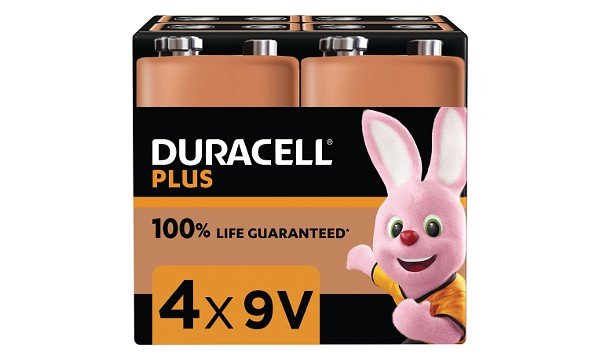 Plus Power 9v - 4 Pack