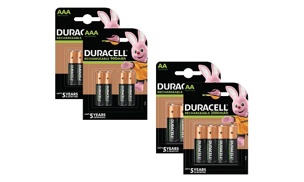 Duracell Pre-Charged AA & AAA 2 x 8 Pack
