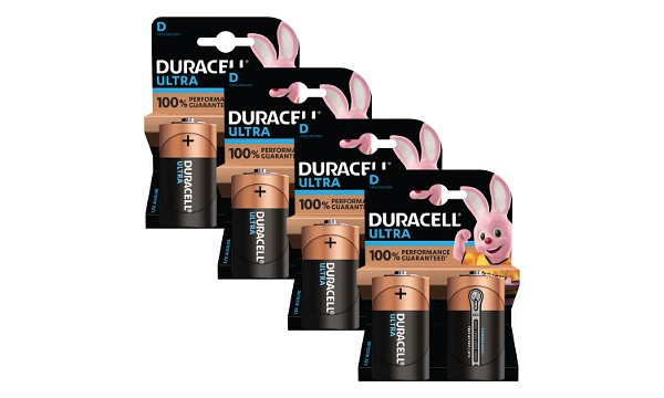 Duracell Ultra Power D Size Pack of 8
